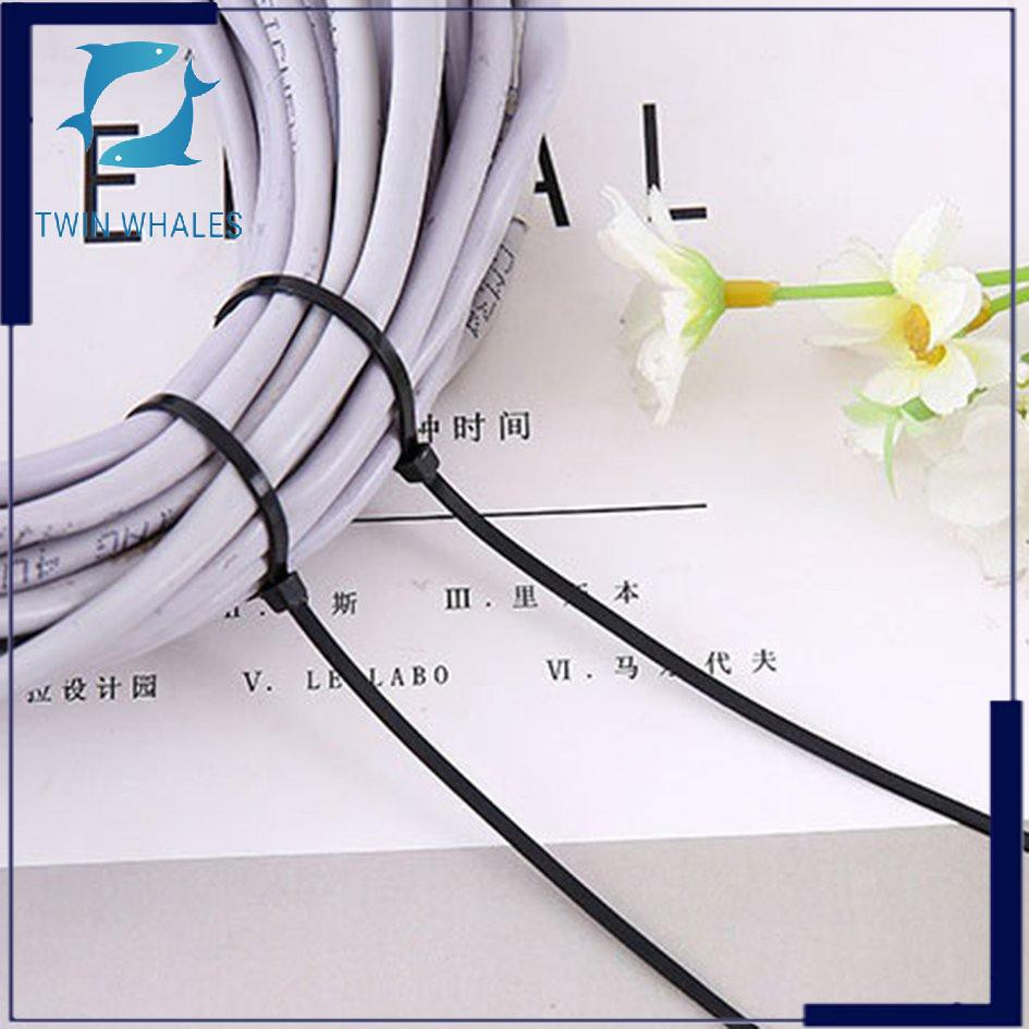 【Ready stock】Self Locking Nylon Cable Ties Cable Management Wire Storage  Tying Wire Harness