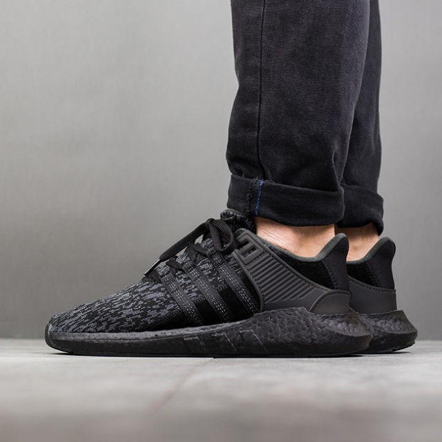 5d7d1a035f1 EQT Support 93/17 Triple Black