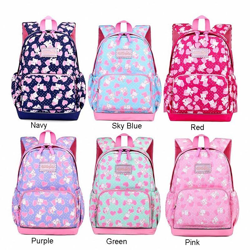 5861aabb9de6 Embroidery Bling Sequin Cartoon Dog Backpack Child Kid School Bag ...