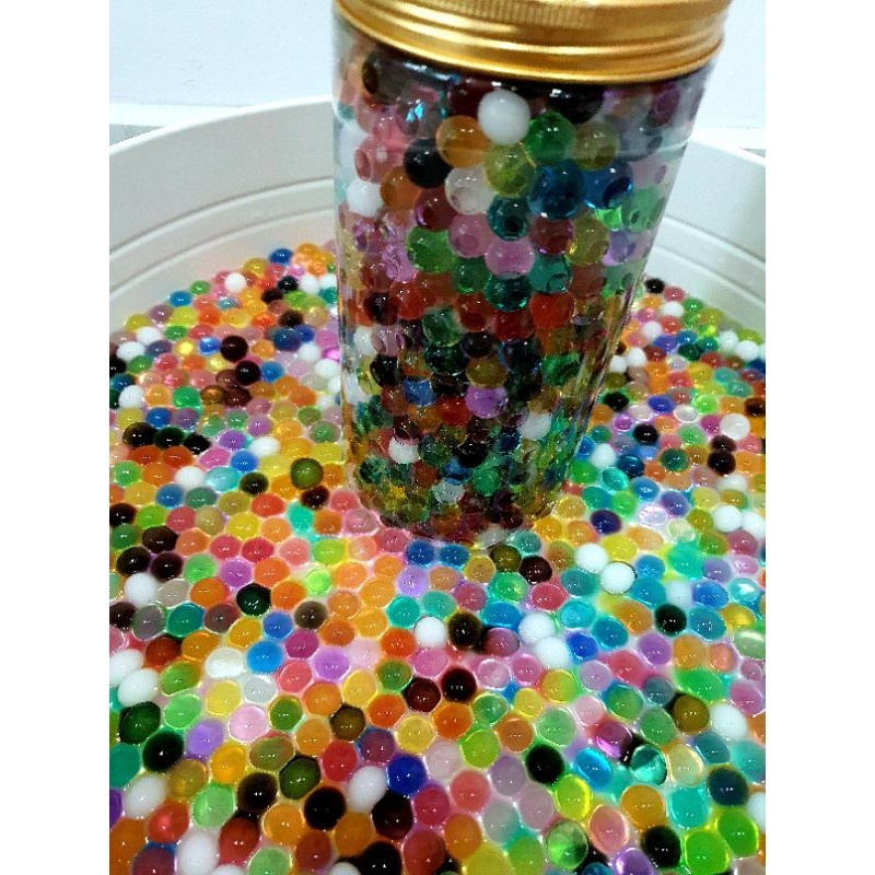 [SG Stock] Rainbow / Colorful Small / Big / Giant Water Bead / Orbeez / Water-Absorbent Animal / Zodiac for Sensory Play