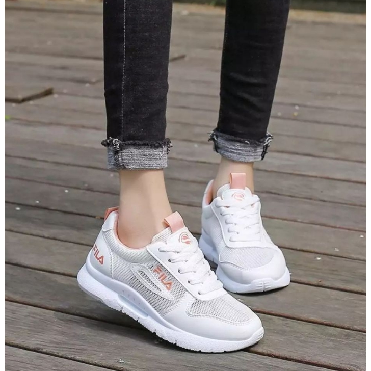 watch 3f119 72aed Korean Women's Sports Shoes Summer Casual Net White Shoe Sneakers