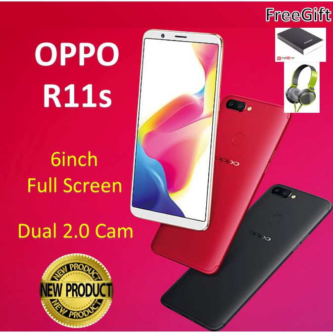 Oppo R11s /Full Screen/4GB RAM / 64GB ROM / Local set / 2yrs Warranty
