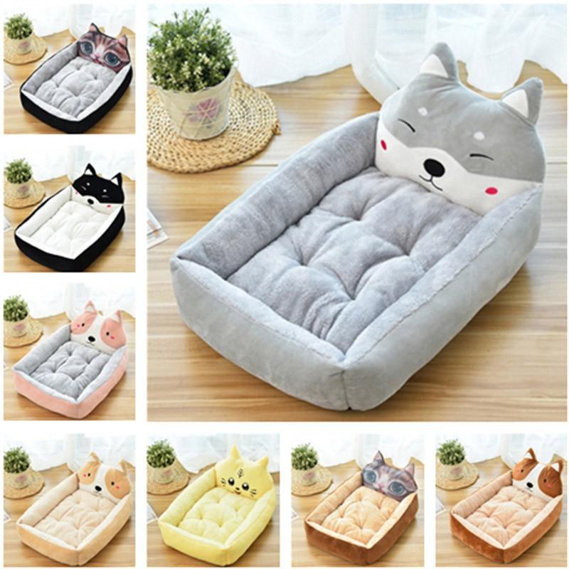 Cute Pet Dog Bed Mat Animal Cartoon