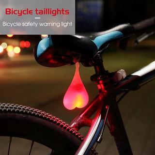 Bike Tail Light Bike Rear Light Waterproof Warning Taillight Bicycle LED Night Light Light-wrold Bicycle Tail light