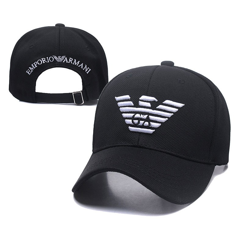 aadceaa5 Armani fashion baseball cap sun visor hat men's and women's hat