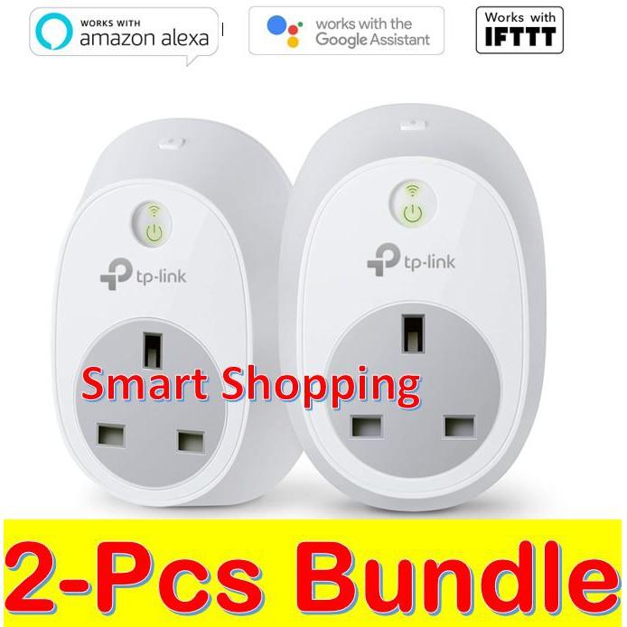 (2 pcs pack) TP-Link TP LINK T P HS100 HS 100 HS-100 Kit Wi-Fi Smart Plug  Home