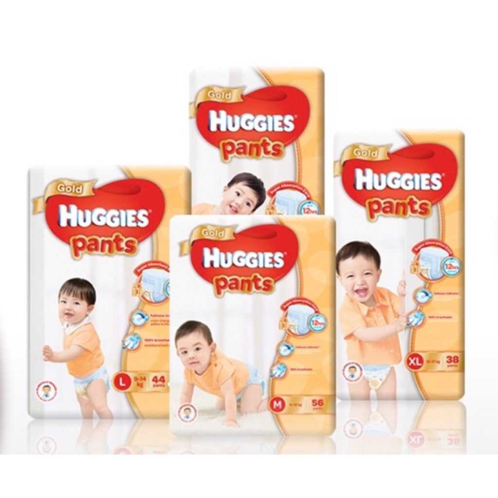 Huggies Silver Pants L Xl Xxl X 3 Packs Shopee Singapore Goon Diapers Slim L50s