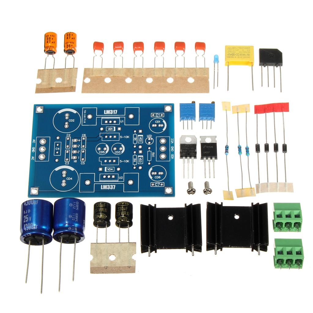 Lm317 Adjustable Voltage Regulator Step Down Power Supply Module W Based 0 To 3v Led Meter Eb Shopee Singapore