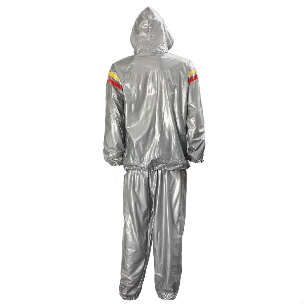 Humorous Keep Thin Kangrui Waterproof Airproof Sweat Coat Sauna Suit Men Women Running Sport Fitness Uniform Reduce Weight Clothes Sports & Entertainment