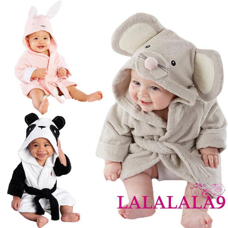 Baby Blanket Cute-Boy-Girl-Animal-Bathrobe-Baby-Hooded-Bath-Towel-Blanket