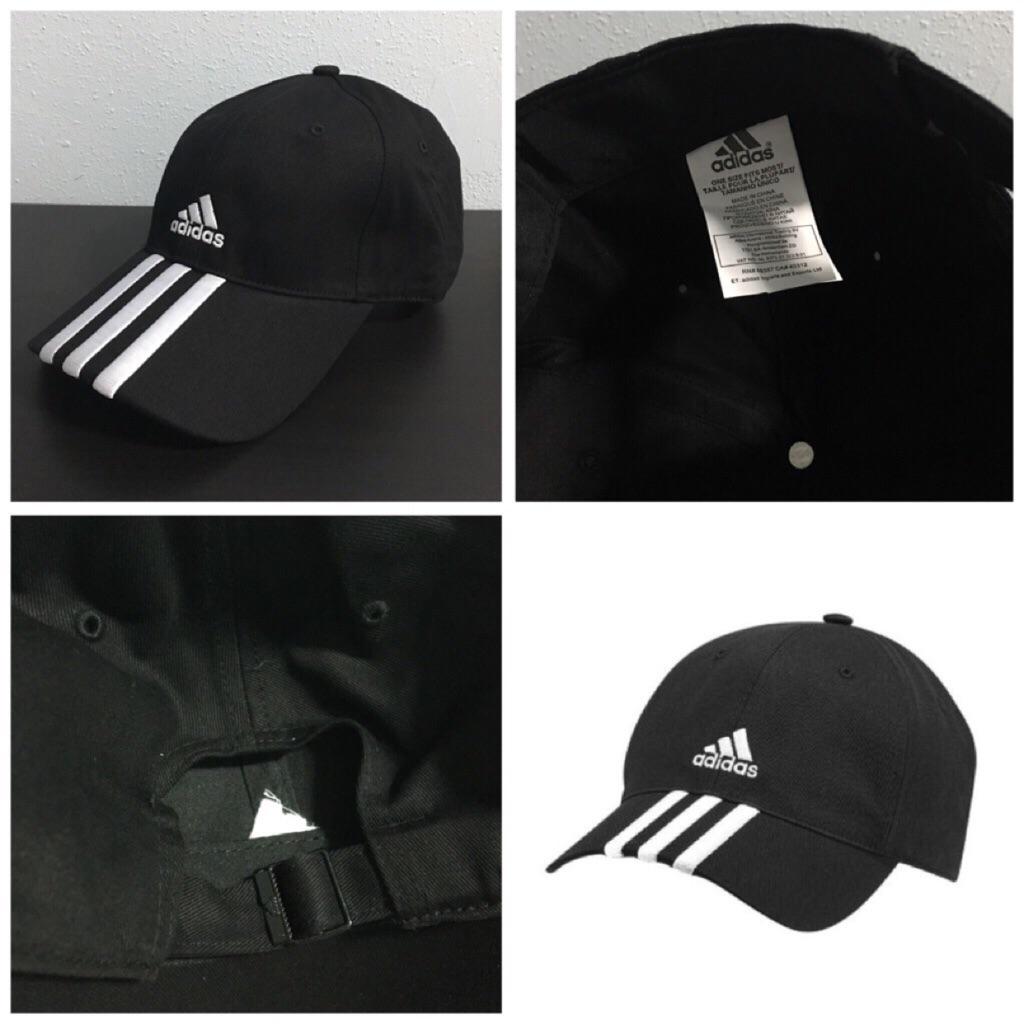 4dd45449cb1 ADIDAS ESS 3S BASEBALL CAP (BLACK)