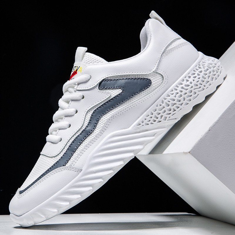 Dear Time Mens Light Breathable Sneakers for Walking Light Grey US 10