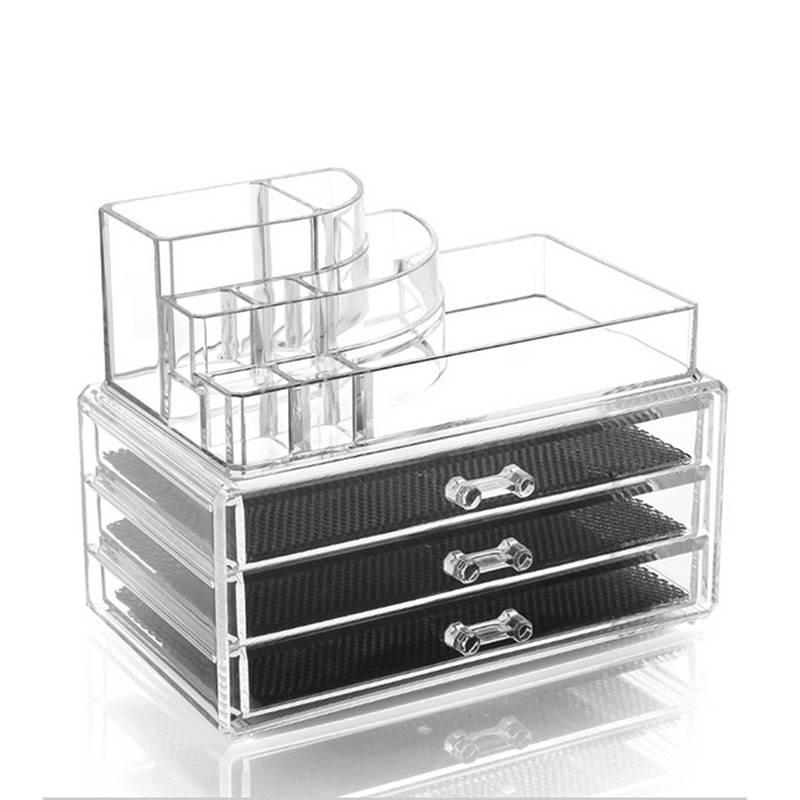 Acrylic Makeup Organizer Storage Box