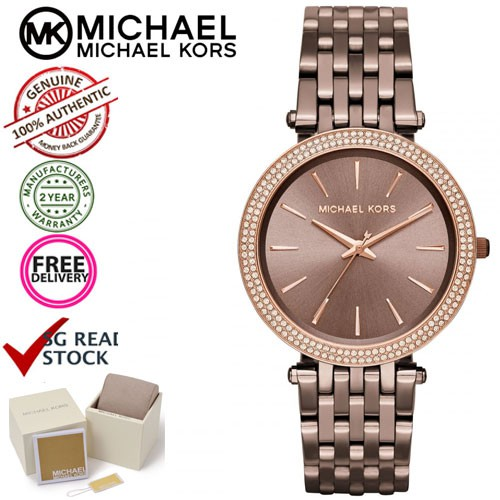 4f5655809728 Michael Kors MK3416 Darci Sable Dial Ladies Watch