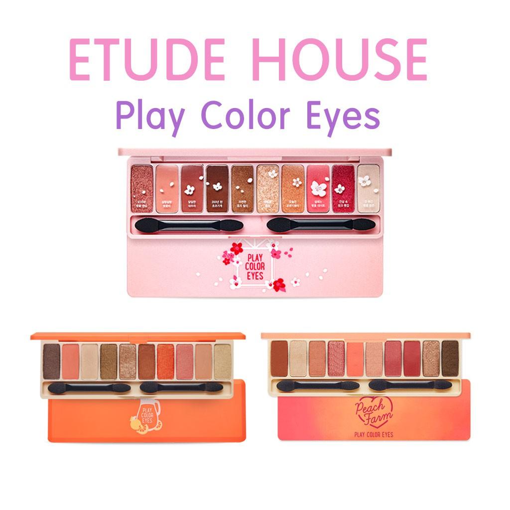 Etude House Play Color Eyes Cherry Blossom 1g X 10 Shopee Singapore