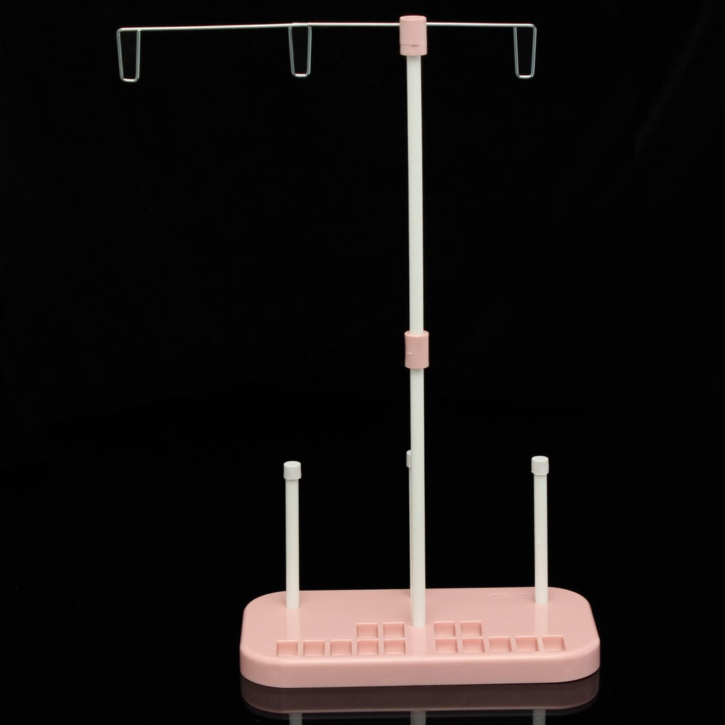 Adjustable 3 Cone Embroidery Thread Spool Holder Stand for Embroidery Sewing Quilting and Sewing Machine
