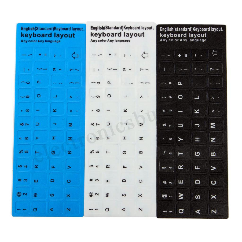 Wholesale English UK US Standard Keyboard Layout Sticker