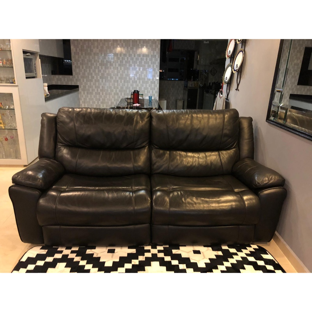 3 Seater Leather Sofa Sho Singapore