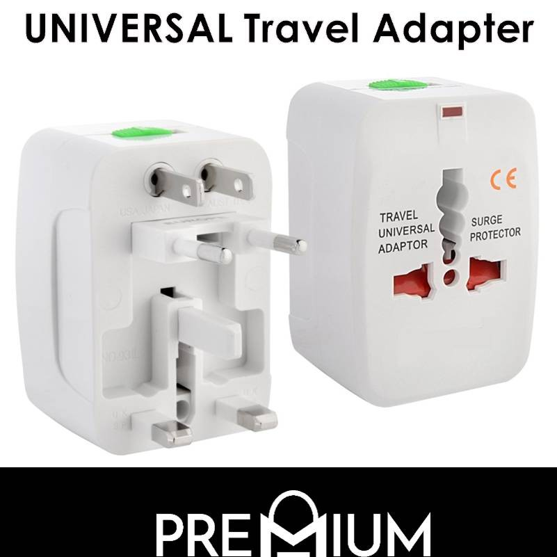 Universal Travel Plug Power Adapter Wall Charger Adapter All in One  Converter