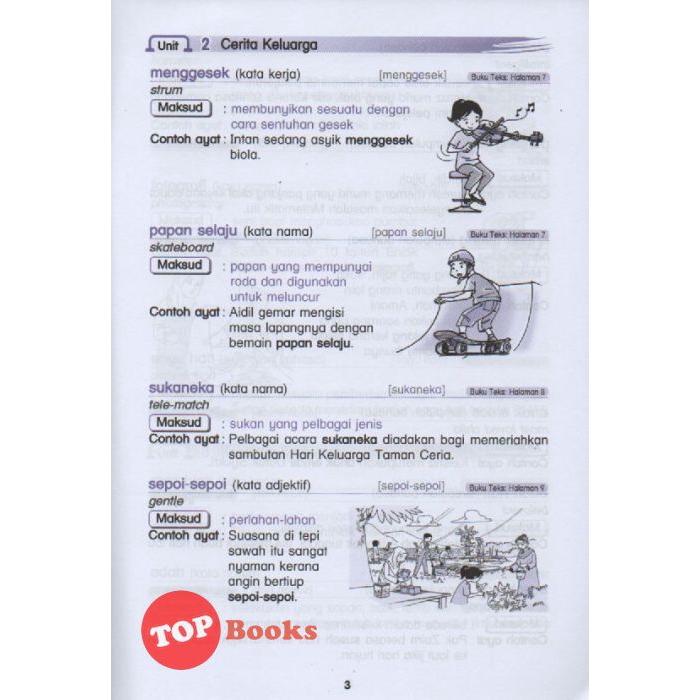 Topbooks Ilmu Bakti Kosa Kata Buku Teks Bahasa Melayu Kssr Tahun 2 2020 Shopee Singapore