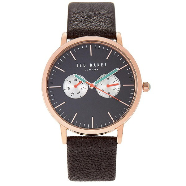 f5b1c095c Ted Baker TE10030744 Zoe Saffiano Leather Strap Watch
