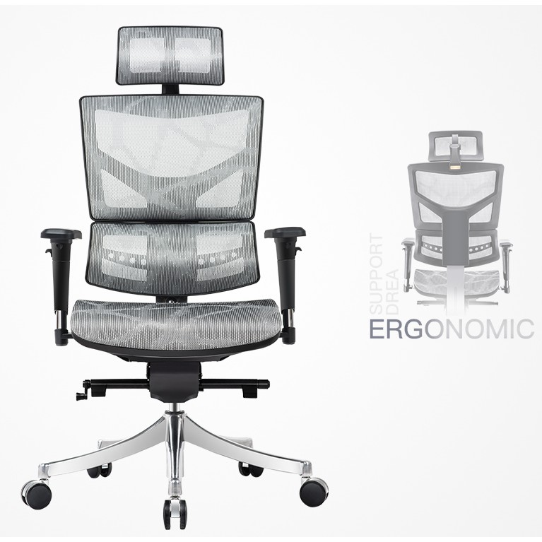 Low Price High End Nice Office Chairs Executive Ergonomic Armchair Office Work Boss Full Mesh Office Chair Shopee Singapore