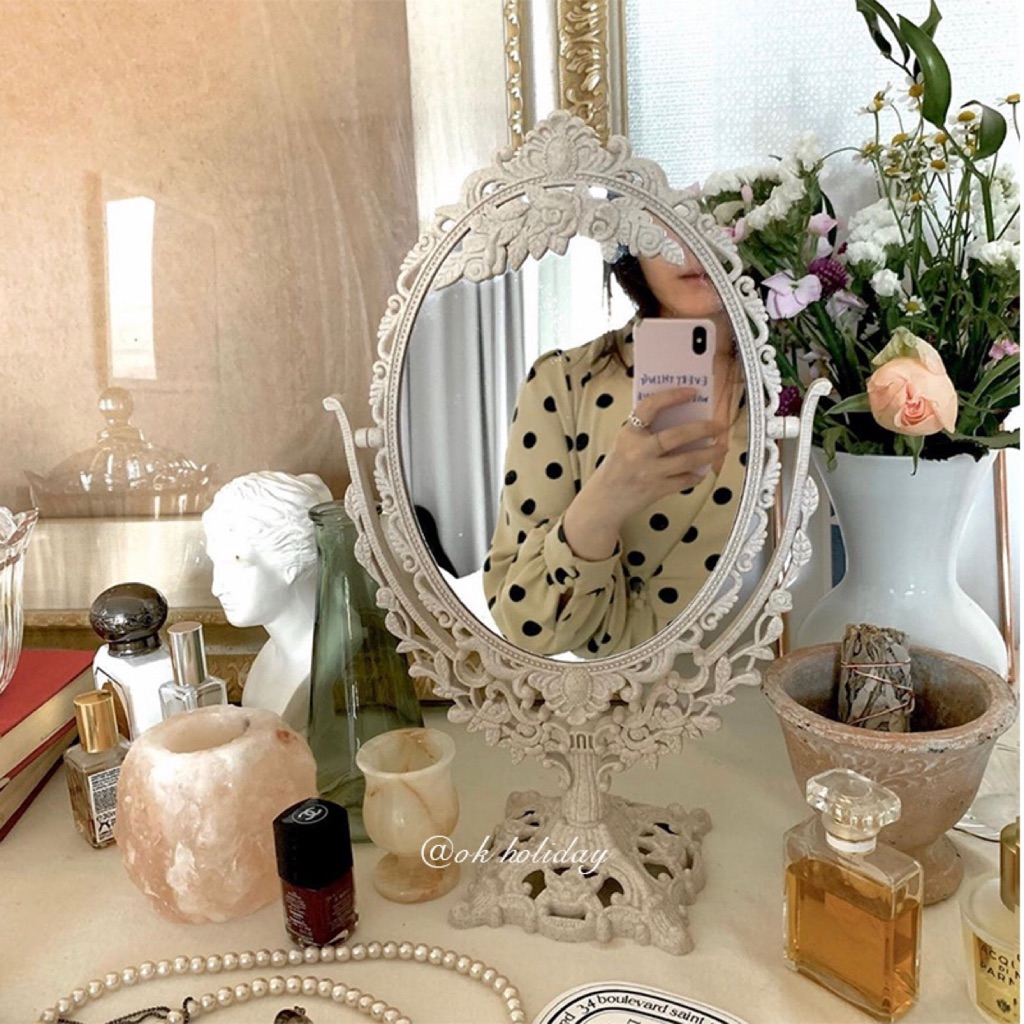 Aesthetic Vintage Vanity Mirror Shopee Singapore