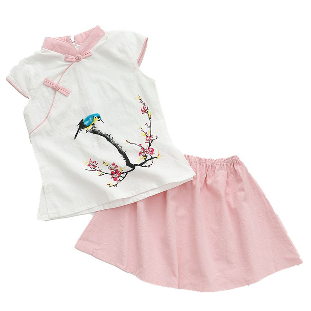 63037f40baf Baby Chinese Style Sleeveless Cheongsam Cotton Soft Rompers  DUDU ...
