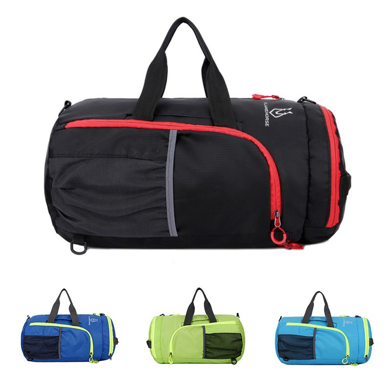 6b85d315c6 ☆BIG☆Folding Basketball Shape Gym Sport Tote Duffel Bag for Travel Vacation  Outdoor