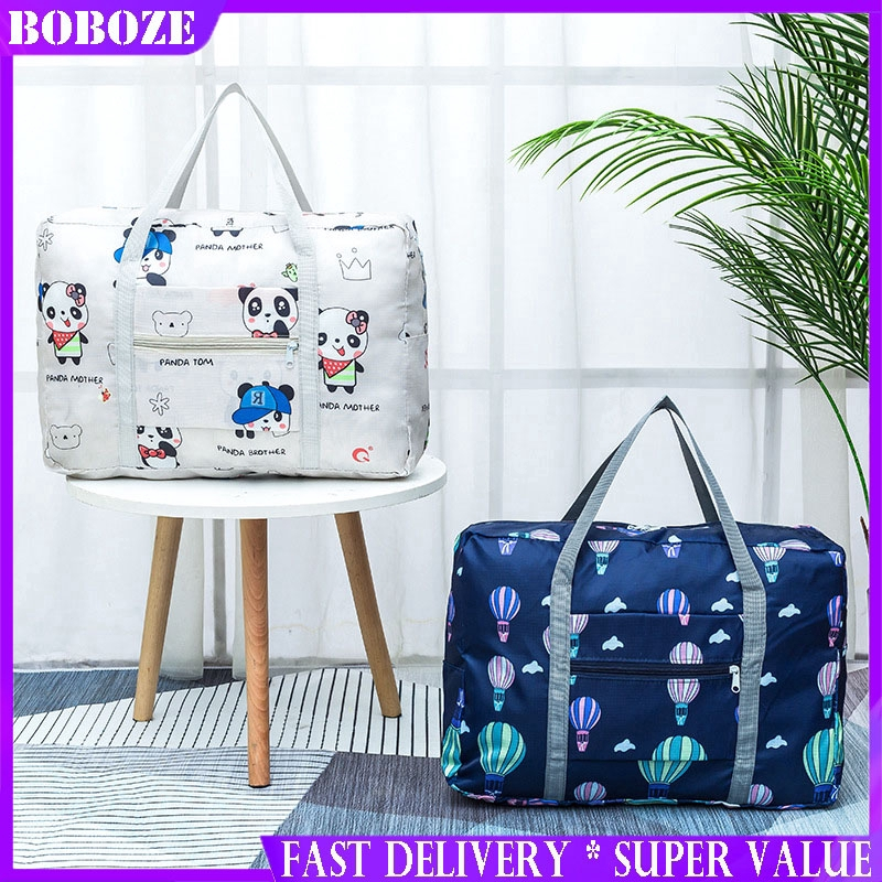 Travel Luggage Duffle Bag Lightweight Portable Handbag Hot Air Balloon Large Capacity Waterproof Foldable Storage Tote