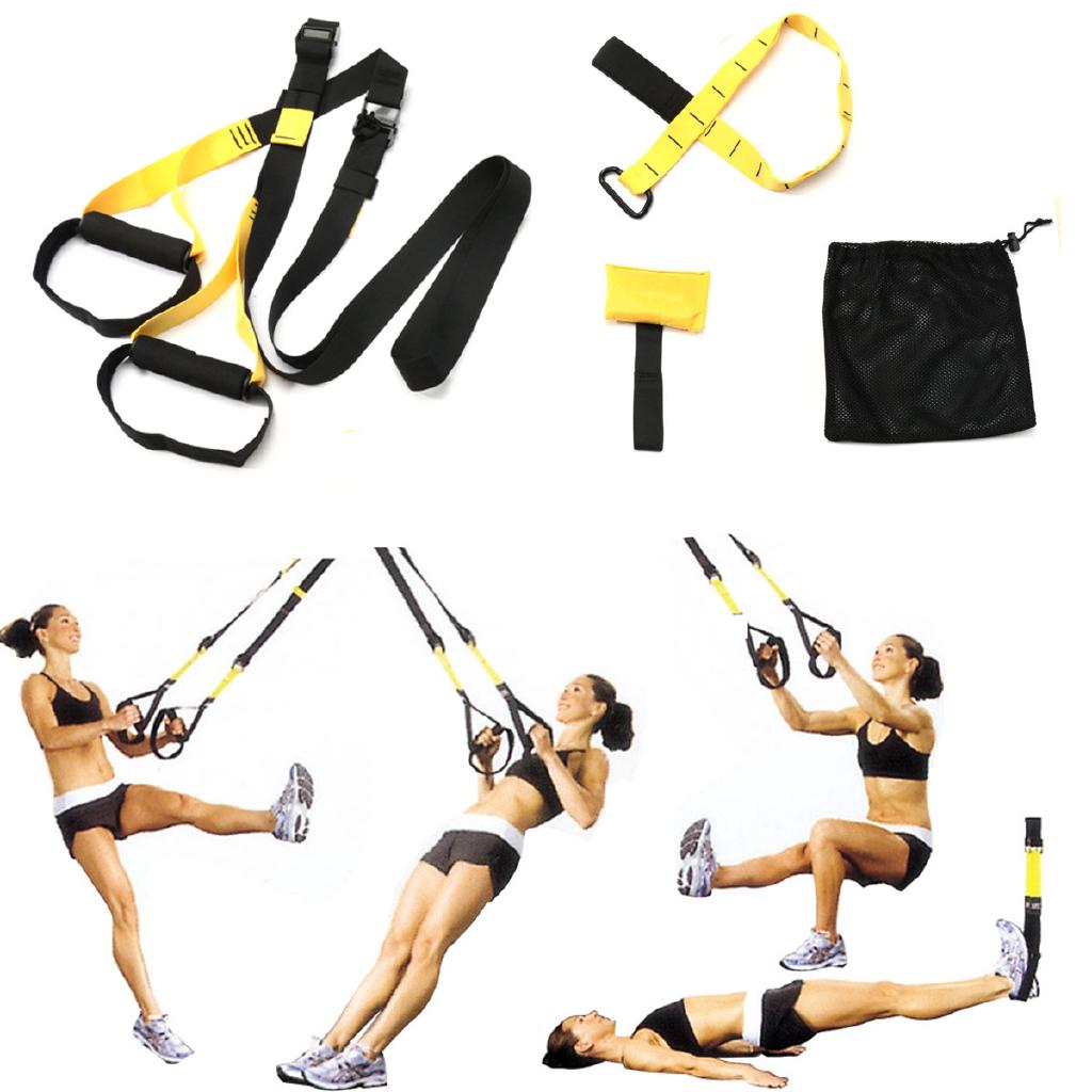 Suspension Body Trainer Straps Home GYM MMA Resistance Training Fitness  Exercise