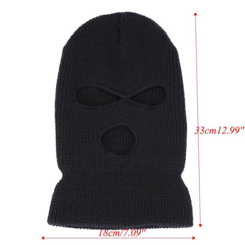 VSE-3 Hole Knitted Face Mask Balaclava Hat Ski Army Stocking Winter Cap  Beanie  cb3f5ecd80eb
