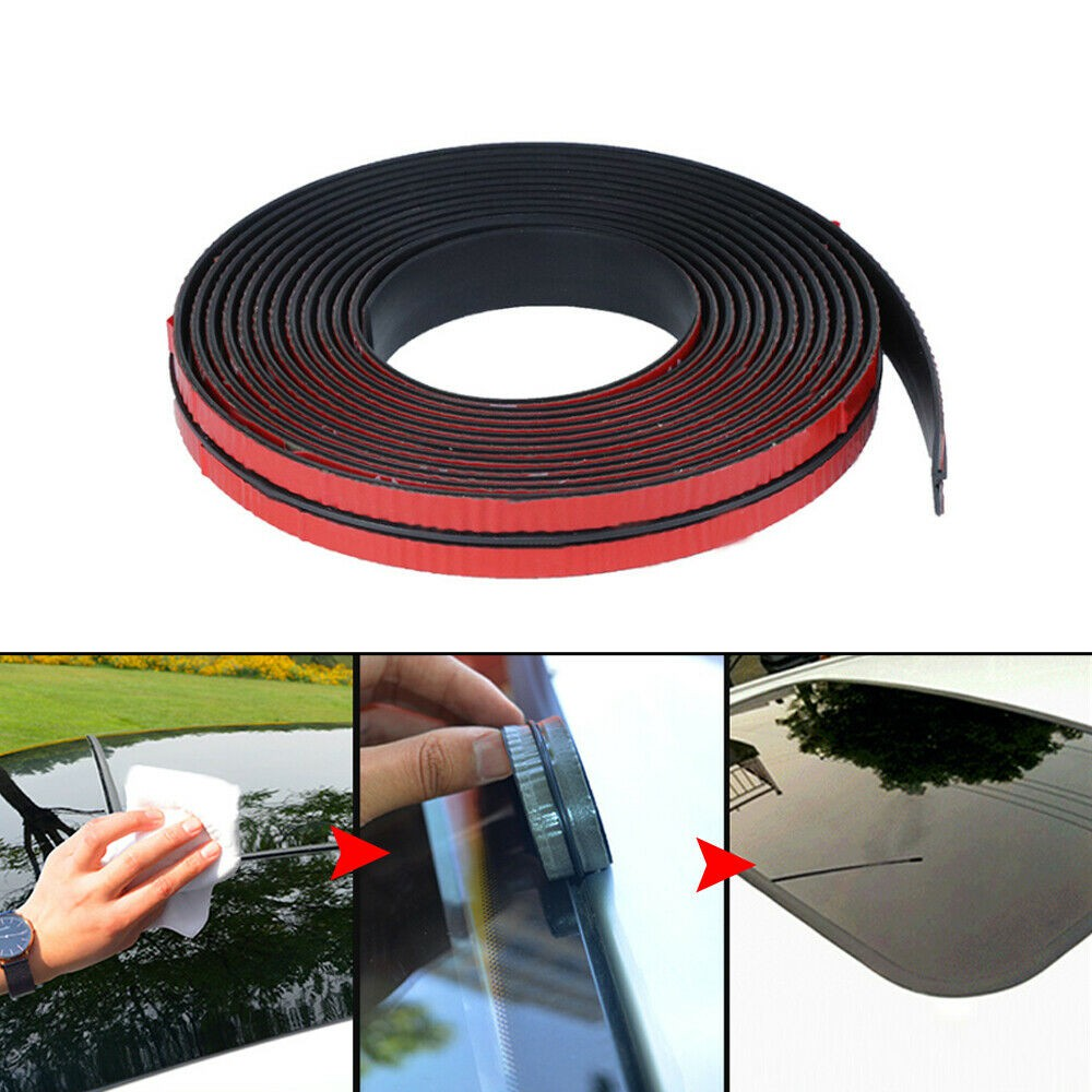 Sealing Strip Rear Window Roof Noise Insulation Rubber ...