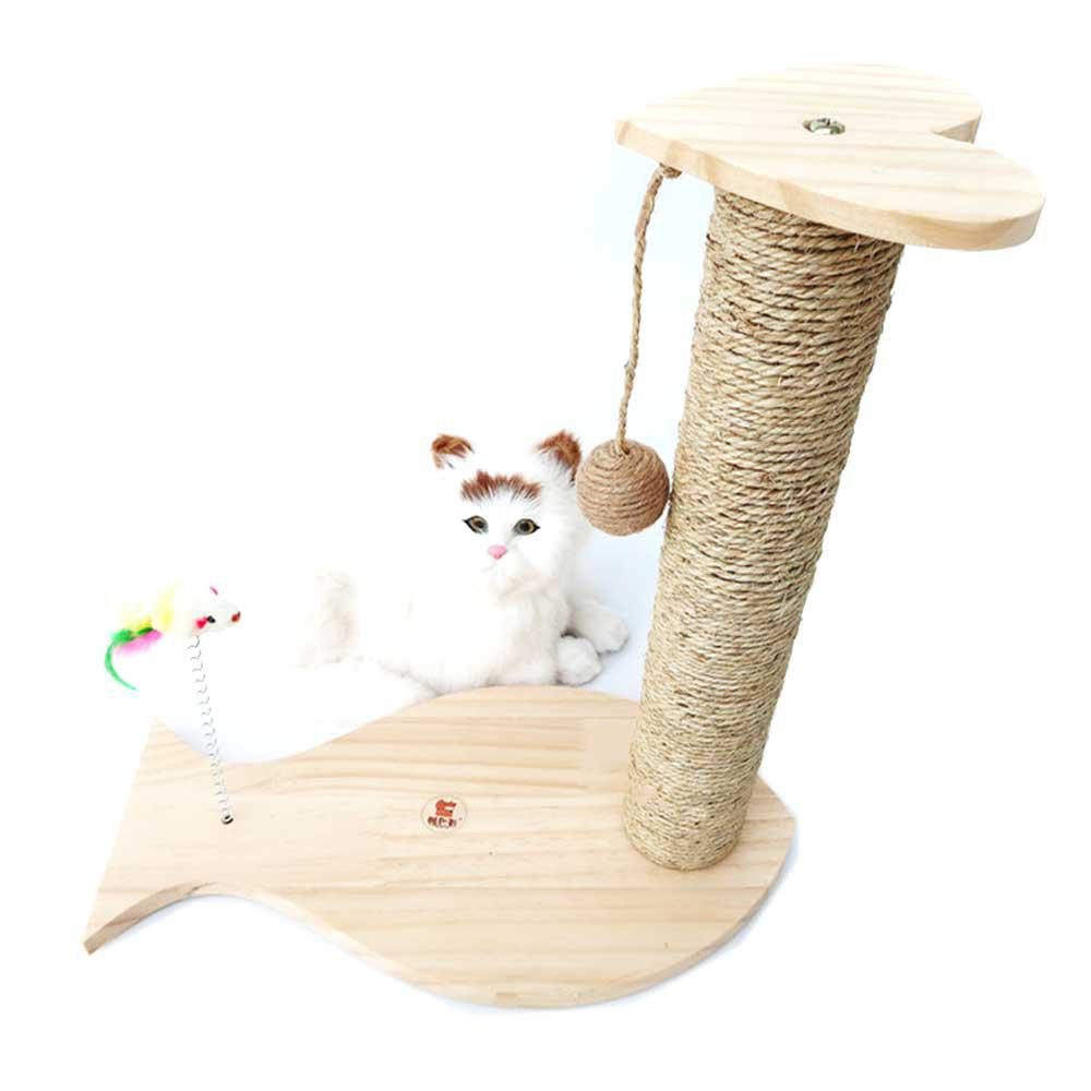 Furniture & Scratchers Anti-claw With Bell Ball Chair Foot Protector Mat Furniture Pet Supplies Pad Sisal Carpet Aromatic Flavor