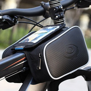 Waterproof Front Frame Cycling Bicycle Top Tube Bike Bag Phone Holder Case Pouch
