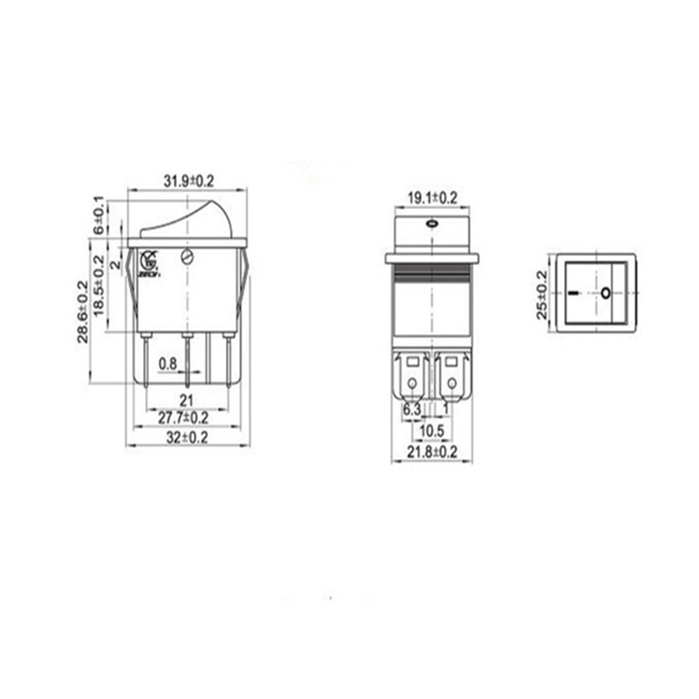 Rocker Switch Tools Small Appliances Price And Deals Home For Wiring Toggle Diagrams Kcd1 5 Nov 2018 Shopee Singapore