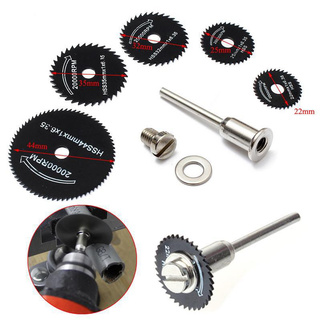 6PCS/Set Circular Saw Blade Rotary Tool Metal Cutter Power Tool Kit Wood Cutting
