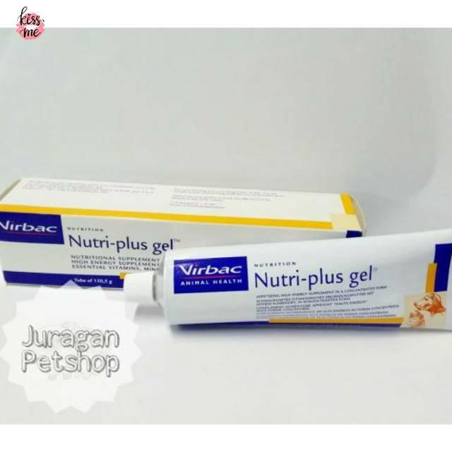 Nutri Plus Gel Large 120gr Virbac Vitamin Cat Dog Exp January 2022 Shopee Singapore