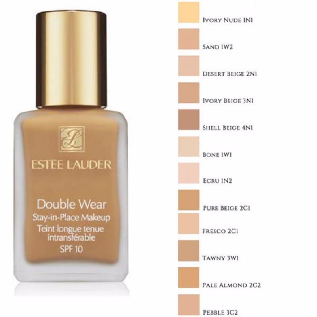 estee lauder double wear foundation sand 7ml shopee singapore