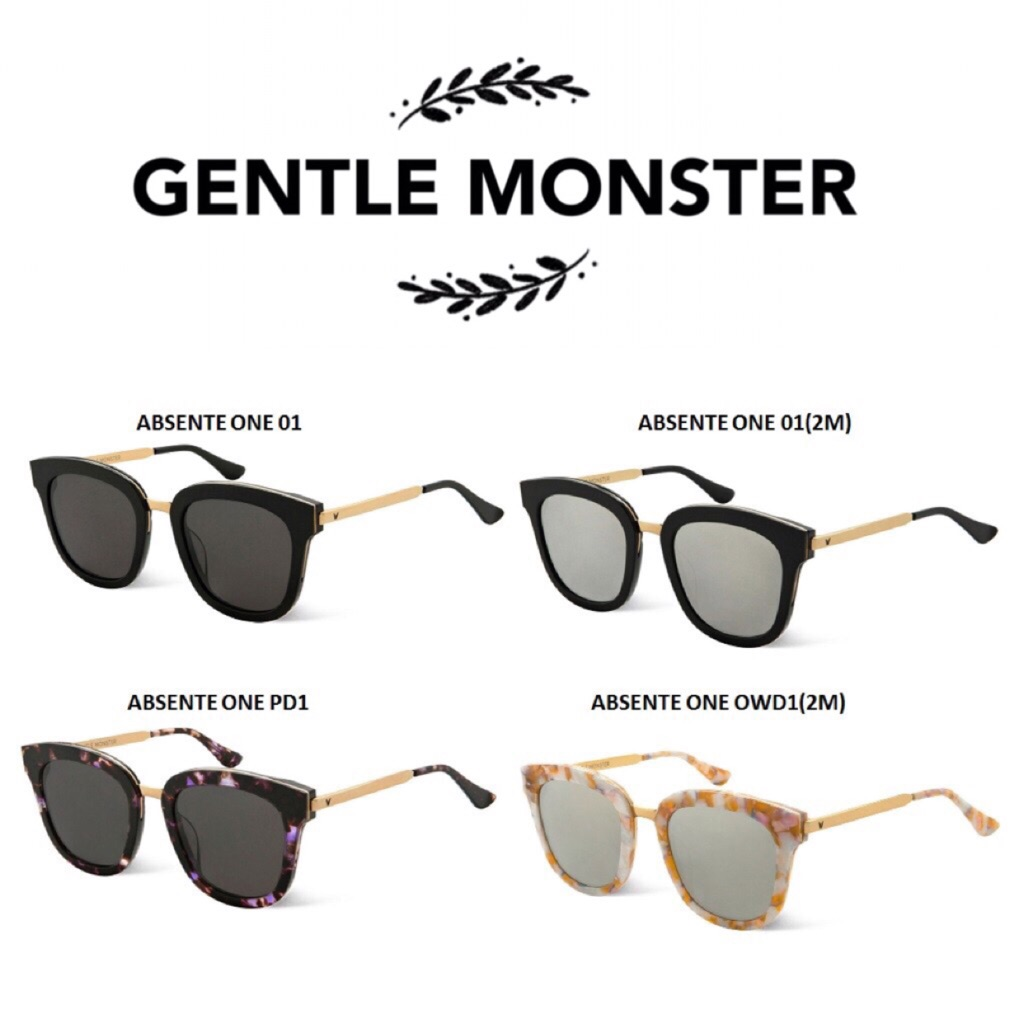 bd0553bb9e Gentle Monster Absente ONE sunglasses