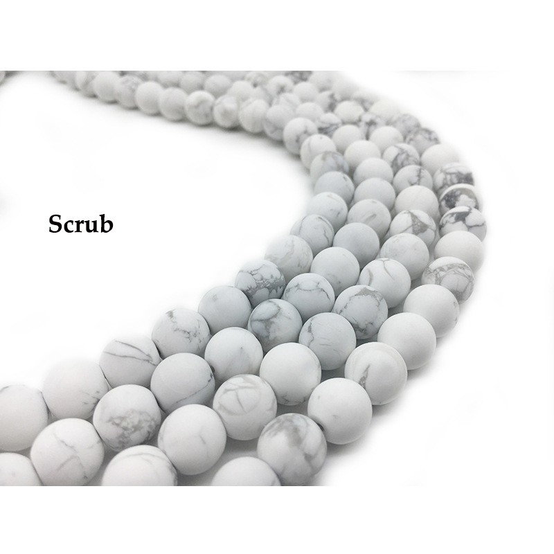 Baby Blue Glass Pearl Round 10mm approx 44 beads