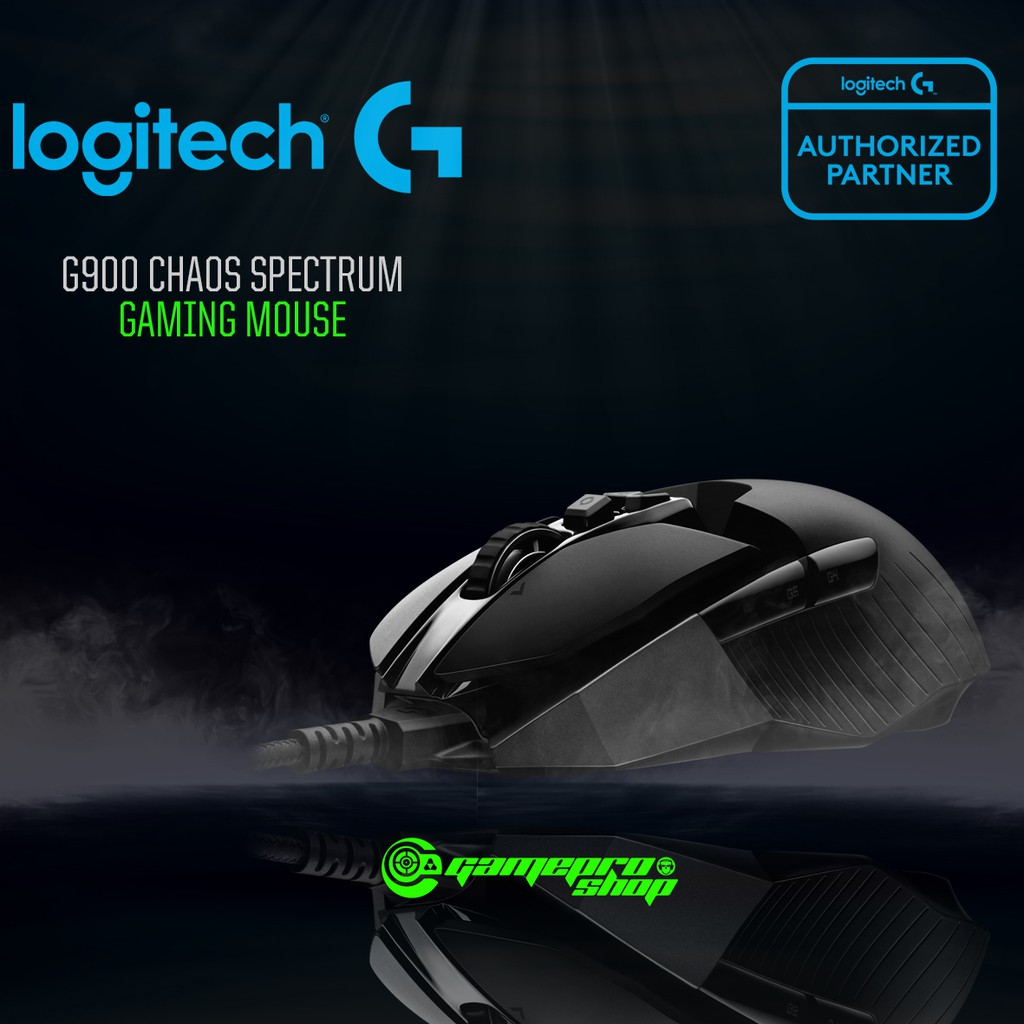 Logitech G900 Chaos Spectrum Wired Wireless Gaming Mouse Shopee Pro Singapore