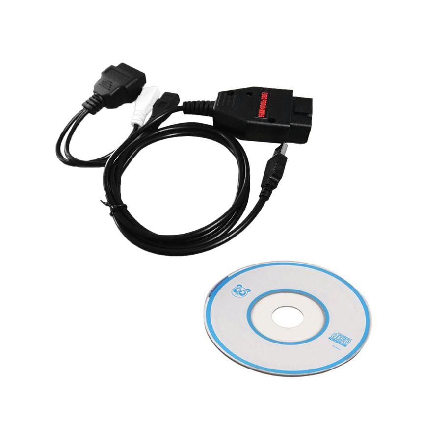 Portable Car EOBD OBD2 OBDII 1260 ECU Diagnostic Cable Programmer Multi-Language