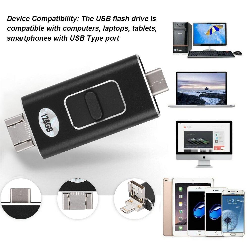 Thumb Black Drive Flash Storage Drives Capacity Stick USB Memory USB  Multiple