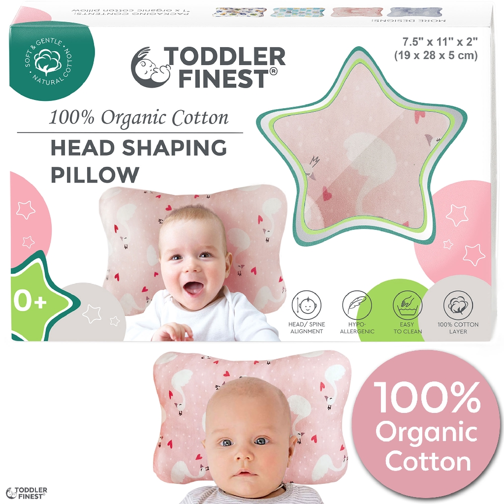 100/% Soft Cotton Cover Baby Wedge Memory Foam Wedge for Reflux Semicircle,Pink Universal Crib Wedge Pillow for Baby Mattress Baby Wedge Sleeper Baby Pillow for Better Nights Sleep