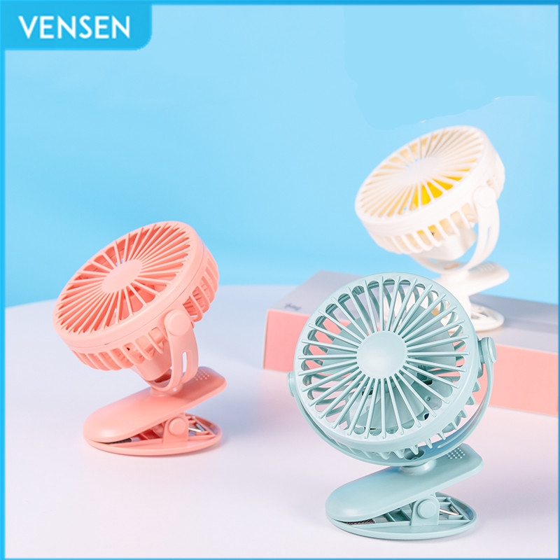 Small Fan F360 Fan Portable Mini USB Charger Plug in Small Fan Night Light Mute Strong Wind Round Plastic Cooling