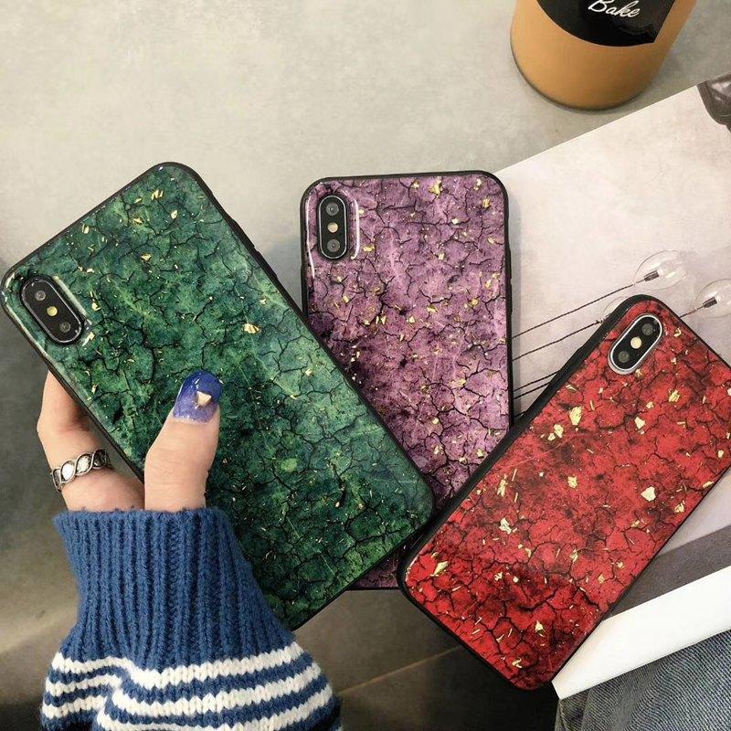 VIVO Y71,Y81,Y81S,Y85, Glitter Marble Soft Phone Case