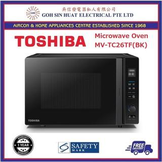 Toshiba 26l V Series Invertor Countertop Microwave Oven Mv Tc26tf Bk 4 In 1 Function Shopee Singapore