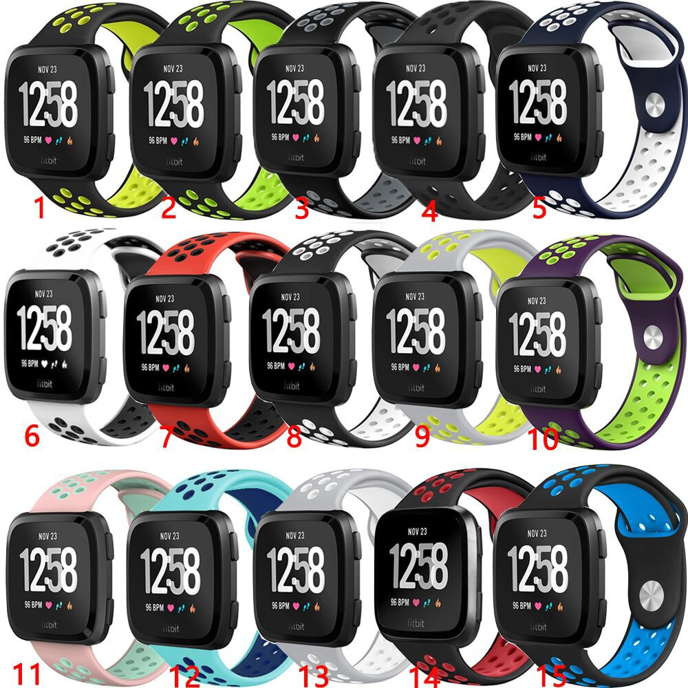 Soft Silicone Band Replacement Strap for Fitbit Versa Smart Watch