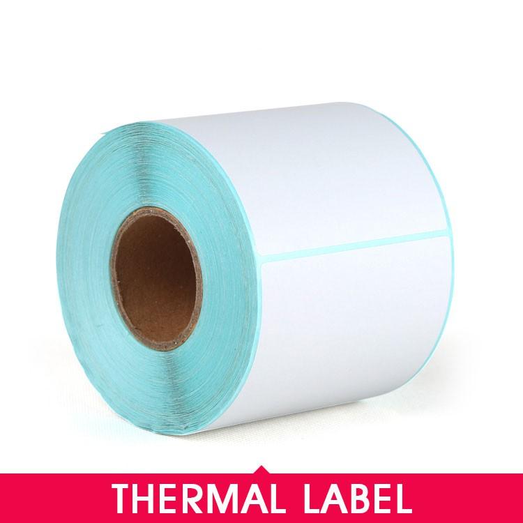 Waterproof Thermal Label Roll Printing Paper for Thermal Label Printer 100*150, 40*20mm, 50*30mm, 70*50mm,100*150mm
